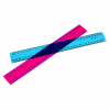 MARBIG 30 MM PLASTIC RULER ASSORTED FLUORO COLOURS