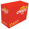 OFFICE CHOICE C4 ENVELOPES 324x229 StripSeal White 100g Heavy ong