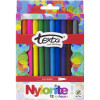 TEXTA NYLORITE MARKERS WALLET 12 ASSORTED