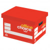 OFFICE CHOICE ARCHIVE BOX DOUBLE END WALLS  AND BASE 100% RECYCLED ong