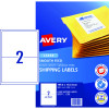 AVERY L7168 SMOOTH FEED LABEL Laser 2/Sht 199.1x143.5mm Wht