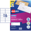 AVERY L7162 MAILING LABELS Laser 16/Sht 99.1x34mm