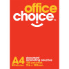 A4 POUCHES LAMINATING 216X303MM 80 MICRON OFFICE CHOICE              ong