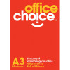 A3 POUCHES LAMINATING 303X426MM 80 MICRON OFFICE CHOICE          ong