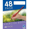 EXERCISE BOOK SOVEREIGN 225 X 175mm 8mm RULED 48 PAGE