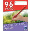 EXERCISE BOOK SOVEREIGN 225 X 175mm 8mm RULED 96 PAGE