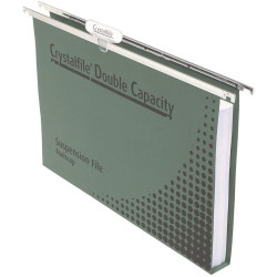 DOUBLE CAPACITY SUSPENSION FILES ENVIRO WITH TABS & INSERTS