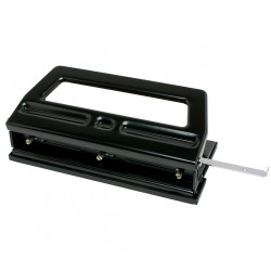 PUNCH HEAVY DUTY ADJUSTABLE REXEL 3 HOLE PUNCH