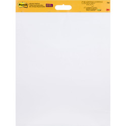 POST-IT WALL HANGING PAD WHITE 566 508 X 584MM   20 SHEETS PER PAD  2 PACK