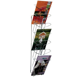 WIRE WALL MOUNTED DISPLAY 7 TIER