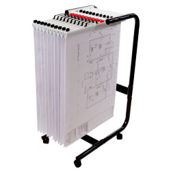 PLANHORSE MOBILE A1-1000 holds up to 10 clamps